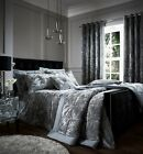 Catherine Lansfield Luxury Crushed Velvet Silver Duvet Cover Set or Accessories image