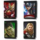 Official Marvel Comics The Avengers Age Of Ultron 3D Sticky Trifold Wallet Black