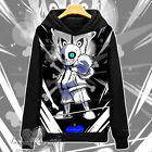 Game Undertale Sans Winter Anime Cosplay Hooded Sweatshirt Pullover Coat #Dl72