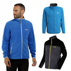 Regatta Stanton II Mens Warm Anti Pill Full Zip Symmetry Fleece Jacket Multi