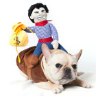 Pet Dog Halloween Custome Cosplay Clothes Superman Batman Cat Outfit Party Coat