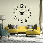 Wall Clock Living Room DIY 3D Home Dorm Decor Mirror Large Art Design Clock