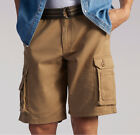 Mens Lee Dungaree Wyoming Cargo Shorts Pants Bourbon Big Tal