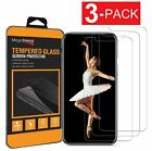 (3-Pack) Premium Tempered GLASS Screen Protector For iPhone X / XS / XR / XS Max
