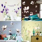 Removable Flowers Home Living Room Mural Decor Art Room Decor Diy Wall Sticker