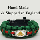 The Worcester Regiment Badged Survival Bracelet Tactical Edge.