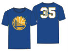 Golden State Warriors Kevin Durant '47 Brand Blue Super Rival Jersey T-Shirt on eBay