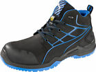 Puma Safety Black Mens Leather Krypton Mid SD ASTM LaceUp Wo