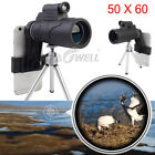 50X60 Zoom Optical HD Lens Monocular Telescope +Laser Light Clip For Smart Phone