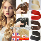 Micro Ring Beads Loop Tip Hair Extensions 1g Indian Remy Human Hair Double Drawn