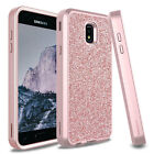 For Samsung Galaxy J7 Crown/Refine/V 2018 Luxury Bling Shockproof Case Cover