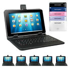 """9"""" Android 4.4 Quad-core 8gb Dual-camera Wifi Tablet Pc Bundled Keyboard Case"""