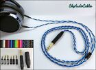 Custom Headphone Cable - 2 x 3.5mm Hifiman He400i Amiron Focal Elear Sony Z7