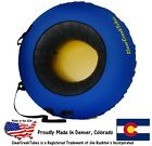 "Внешний вид - ClearCreekTubes Snow Tube Huge 44"" Inflated Towable or Non-Towable!"