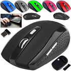 2.4ghz Wireless Cordless Mouse Mice Optical Scroll For Computer Pc Laptop Usb Uk