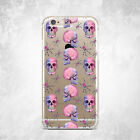Halloween Skull Spider Soft Case Cover For iPhone 6s 7 8 Plus Xs 11 Pro Max XR