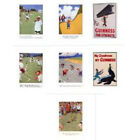 Postcard Guinness Golf Cricket Strength from Robert Opie collection 7 variations