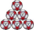 Classic Soccer Ball six pack White Red and Blue 32 Panel $125.0 USD on eBay