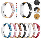 Genuine Leather Replacement Wrist Band Strap For Fitbit Alta & HR Tracker Watch image