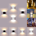 6W LED Wall Lamp Modern Up Down Sconce Lighting Fixture Cube Light Indoor Decor