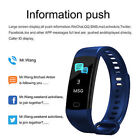 Bluetooth Smart Watch Blood Pressure Heart Rate Fitness Tracker Monitor IP67