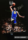 Kevin Durant Golden State Warriors Slam Dunk AUTOGRAPHED POSTER PRINT. GREAT! on eBay