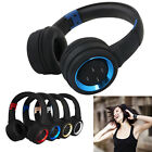 Wireless Bluetooth Headphones Headset Noise Cancelling Stereo Over Ear Earphones