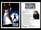 James Bond Archives The Living Daylights Gold Parallel Card You Pick Number $10.41 CAD on eBay