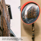 """11"""" 18"""" Outdoor Road Traffic Convex Mirror Wide Angle Driveway Safety & Security"""