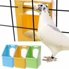 Pigeon Food Water Bowl Feeder Plastic Birds Cage Sand Food Box Feed Cup 2018