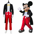 Mickey Mouse Suit Tuxedo Halloween Cosplay Costume Outfit Custom Made