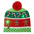 Stylish Christmas Multiple Color LED Light Hat Xmas Cap for Adult Kids Mini -AO5