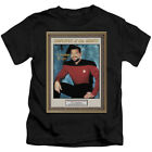 Star Trek TNG EMPLOYEE OF MONTH Riker Number One T-Shirt KIDS Sizes 4, 5/6, 7 on eBay