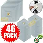 """Peel and Stick Ceiling Tiles 46 Pieces 12""""x12"""" Easy Installation Textured Panels"""