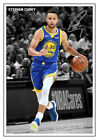 Stephen Curry GOLDEN STATE WARRIORS 2018/19 NBA AUTOGRAPHED LAMINATED PRINT. on eBay