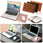 """Universal 11"""" 11.6"""" 12"""" 13"""" 14"""" 15.4"""" Laptop PC PU Leather Sleeve Bag Cover Case"""