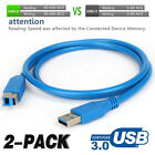 USB 3.0 Printer Cable Type A Male To B Male Super Speed Sync Copper Data Cord