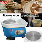 110V 25cm DIY Ceramic Molding Machine Pottery Wheel Ceramic for Ceramic WorkArt  image