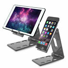 For Apple iPad Pro/Air/iPhone Adjustable Angle Aluminum Desk Tablet Holder Stand