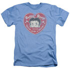Betty Boop FAN CLUB HEART Vintage Style Licensed Heather T-Shirt All Sizes $19.93 USD on eBay