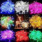 100/200 Led Christmas Tree Fairy String Party Lights Lamp Xmas Garden Outdoor Us