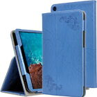 PU Leather Floral Paint Stand Cover Case For 10.1'' Xiaomi Mi Pad 4 Plus Tablet