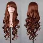 8 Types Womens Long Hair Full Wigs Party Costume Cosplay Wigs Halloween Fancy