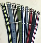 "Canvas Watch Band Strap 18mm 20mm 22mm Nylon Military TIMEX Weekender ""Style""USA image"