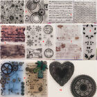 Внешний вид - Frame Template Transparent Silicone Clear Stamps DIY Scrapbook Embossing Setting