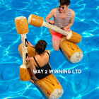 4Pcs Inflatable Ride On Pool Toy Water Float Kids Summer Beach Swimming Pool AS