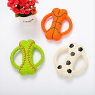 Hot Sale Pet Dog Toy Bite-Resistant Molar Natural Latex Bone Ring Bite Toy RD
