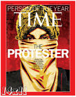 The Protester 'Man Of The Year' Time Magazine 2011 Cover Poster or Art Print