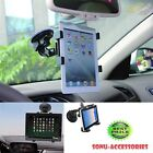 "360° Rotation Windscreen Car Suction Mount Holder for 6"" To 11"" Tablets & iPads"