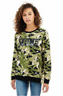 Внешний вид - True Religion Women's Camo Pullover Crew Neck Sweatshirt in Camo